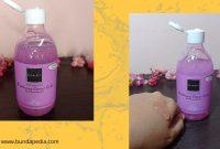 Brightening Shower Scrub Pomegrante scarlett whitening